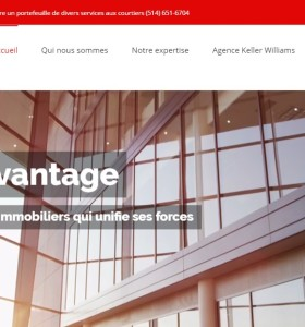 Groupe Avantage – Marketing digital Branding immobilier